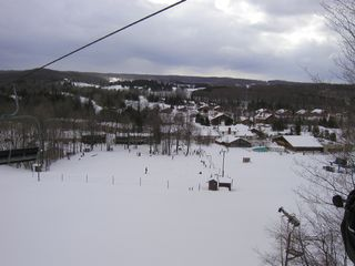 Bellaire / Shanty Creek condo photo - The slopes in Winter