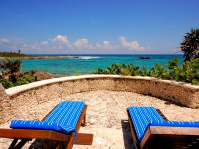 Casa Bella Upper Patio With Loungers