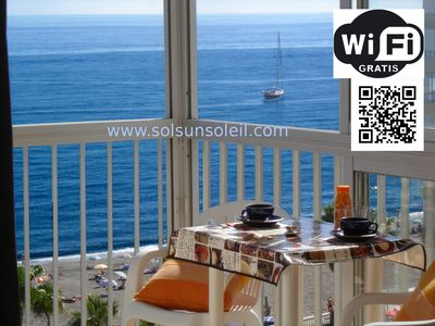 BARGAIN LAST MINUTES WIFI SEA VIEW BEACH near NERJA Andalusia PAY PAL