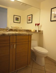 Kihei condo rental - The half bath has been renovated.
