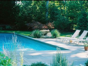 East Hampton house rental - Close up of private pool