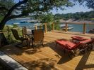 Wifi extends to deck.  Enjoy the view and breeze while surfing the net.
