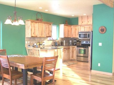 Donnelly cabin rental - Beautiful High End Kitchen