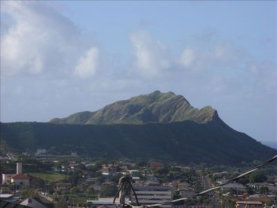 The beautifull Lie Ahi Valcanic crator now called Diamond Head