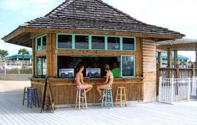 Tiki Hut for all sorts of beverages!