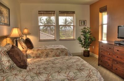 Waikoloa Beach Resort villa rental - The 2nd bedroom can have two twin beds or a king size bed you choose