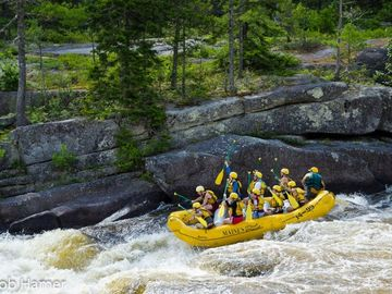 Have a day of rafting fun, Outfitters right in town to make a day with...