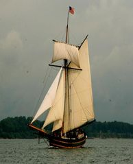 South Haven cottage photo - Sail aboard Friends Good Will. Within walking distance.