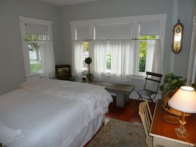 This is the guest bedroom 1 at the front of the house.