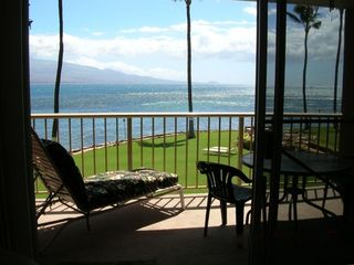 Relax on the Lanai and watch the whales