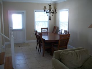 Key West house photo - Dining room has seating for up to 8 people.