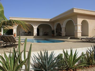 image for Somone Beautiful Villa with Garden and Swimming Pool Close to the Beach,