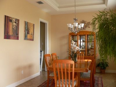 Vacation Homes in Marco Island house rental - Formal Dining Room