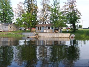 Cadillac cottage rental - View from the Lake