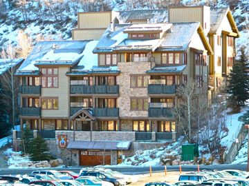 Marriott Summit Watch condo rental - The Red Stag Lodge with indoor parking garage.