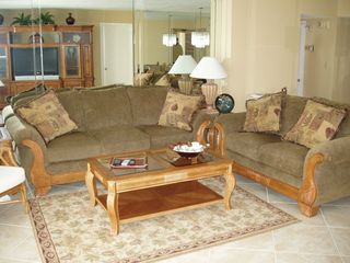Relax in our spacious living room