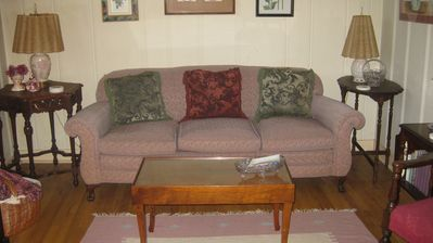 Lead cottage rental - Living Room, seats 5