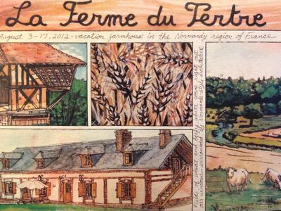 Typical normandy's house for 8 - 12 persons or 14 - 20 persons