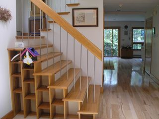 Wiscasset house photo - Stairwell