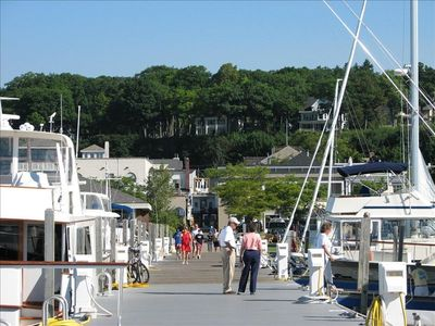 Harbor Springs apartment rental - Only a Few Steps to the Pier & Marina