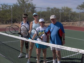 Tucson house rental - Welcome to Casita Del Sol, bring your racket, or borrow ours