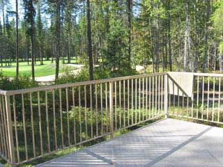 View of Golf Course from back deck