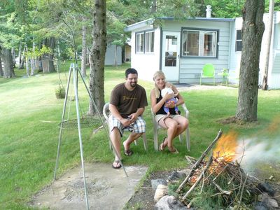 Enjoy a camp fire with the family