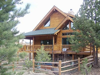 Elegant rustic log home with mountain views vrbo for Elegant log homes