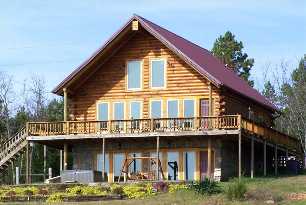 Seclusion in cherokee cabin at mt magazine vrbo for Cabins near mount magazine