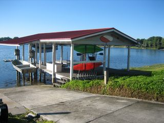 Winter Haven house photo - Boat Dock and Kayaks