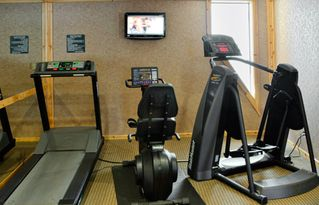 Squaw Valley - Olympic Valley condo photo - Fitness Area in Club House at Red Wolf Lodge at Squaw Valley
