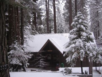Arnold cabin rental - Wintertime magic at the cabin