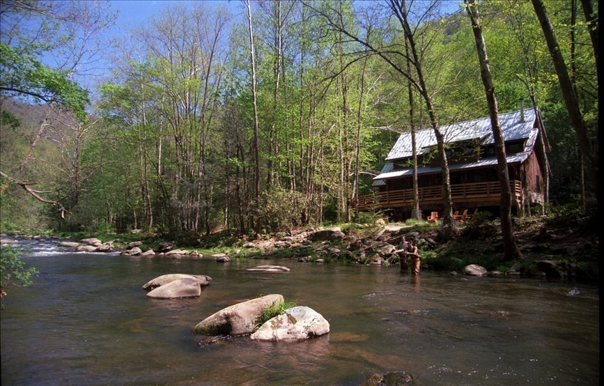 Nantahala Riverfront Cabin Near Bryson City Vrbo