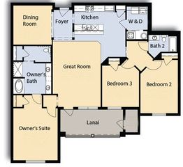 Orlando condo photo - Floor plan