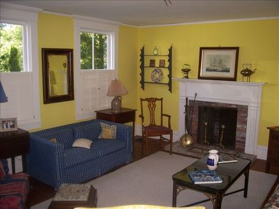 Edgartown house rental - Main House Living Room