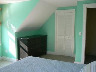 Vineyard Haven house photo - Upstairs Bedroom w/Queen Size Bed