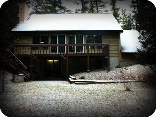Indian River house photo - View of the back of our home
