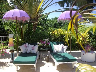 Montego Bay villa rental - Pool side at Pimento Hill House