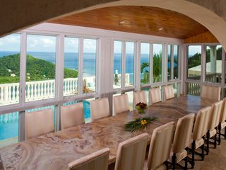 Cruz Bay villa photo - Dining for 16, or 20 of your close friends