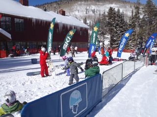 Copper Mountain condo photo - Kids enjoying Ski School steps from condo!!