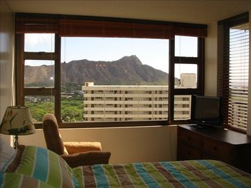 Diamond Head view from bedroom