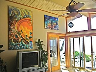 Sunset Beach house photo - Cool Surf Art