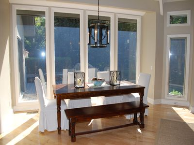 Sea Pines house rental - Dining for eight
