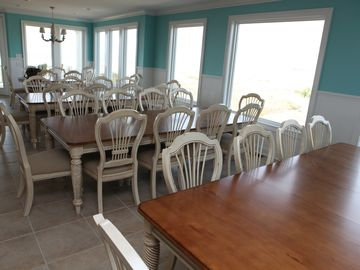 Dinning area seats 43 including breakfast bar