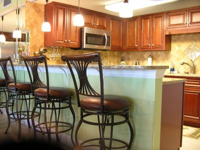 Fort Walton Beach condo rental - BAR SEATING AREA