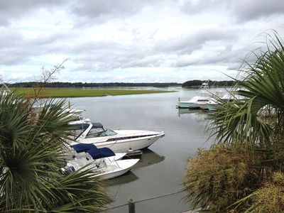 Welcome to 1902 Bohicket Marina Villa - Restful, water views!  Wildlife and a lovely home!