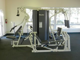 Sun Lake condo photo - Nautilus circuit training in the Club House work out room.