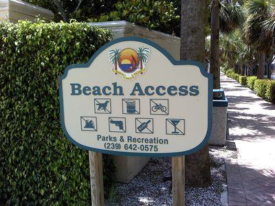 Beach Access Across the Street very safe day or night.