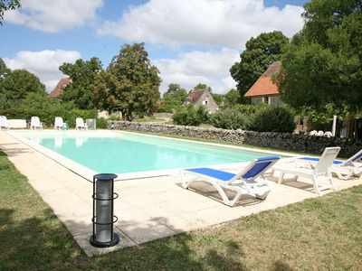 4 charming cottages (2,6,6,11 people) with pool 2 steps Rocamadour