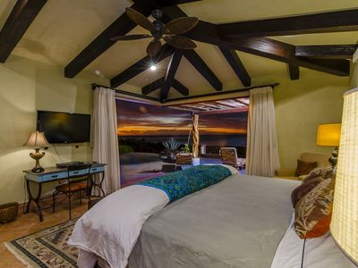 Fully-appointed second master bedroom suite